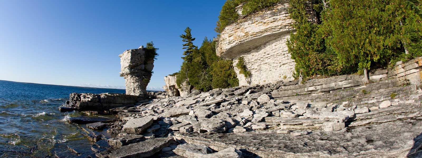Flowerpot Island Sea Stacks